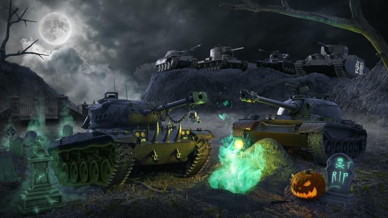 World of Tanks, Cadılar Bayramı etkinliği başlıyor