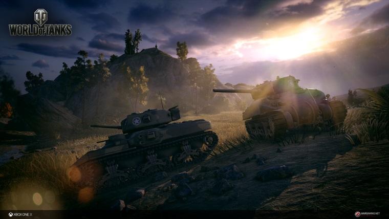World of Tanks, Xbox One X güncellemesine kavuştu