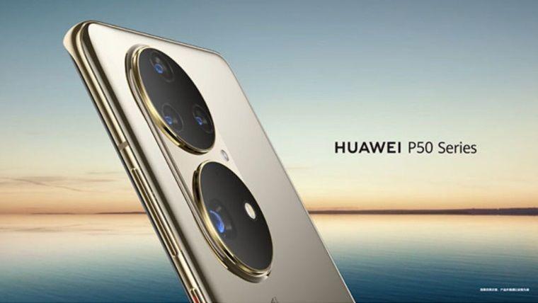 Huawei P50 HarmonyOS 2.0 ile birlikte duyuruldu