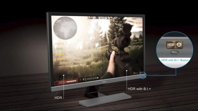 BenQ'nun HDR destekli, oyun ve film odaklı monitörü çıktı