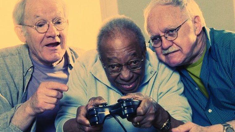 Araştırmalara göre yaşlı oyuncuların sayısı artıyor