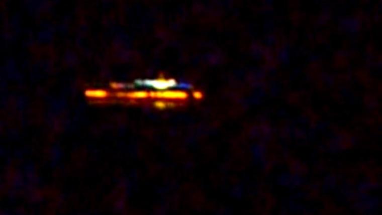 Ufo'nun gökyüzünde dansı görüntülendi