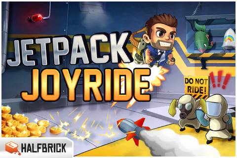 Jetpack Joyride PSN'e geldi