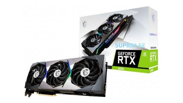 MSI, RTX 3080 ve RTX 3070 SUPRIM SE serisini duyurdu
