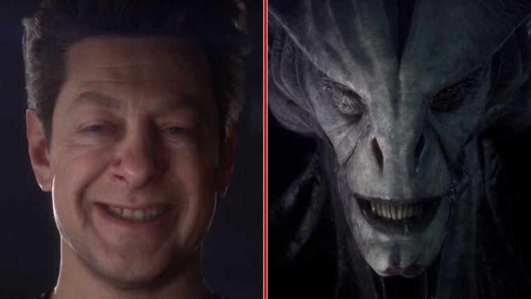 Unreal Engine'in videosunda Andy Serkis'i uzaylı olarak görün