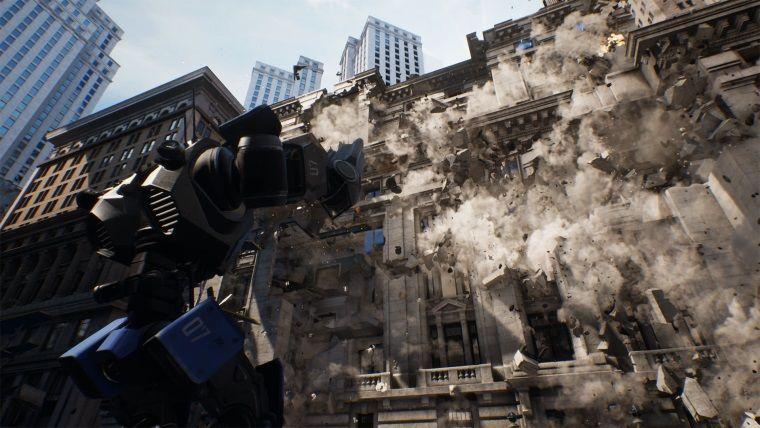 Unreal Engine 4'ün yenilenen fizik motoru şahane gözüküyor