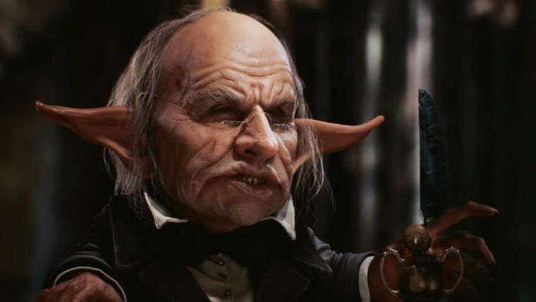 Harry Potter'ın bankacı Goblin'i, Unreal Engine 4'te modellendi