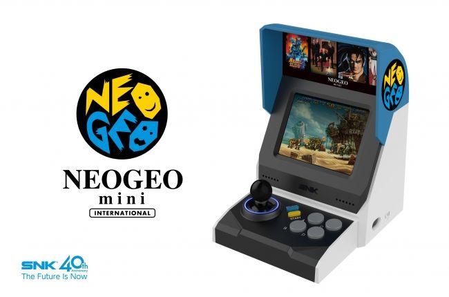 Neo Geo mini resmi olarak duyuruldu, konsol 40 oyun içerecek