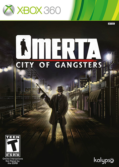 Omerta: City Of Gangsters'tan Xbox kutu resmi