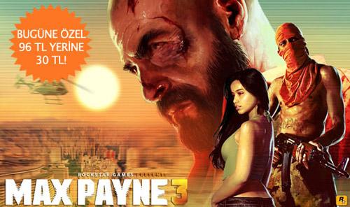 Playstore'da Max Payne 3 Kampanyası