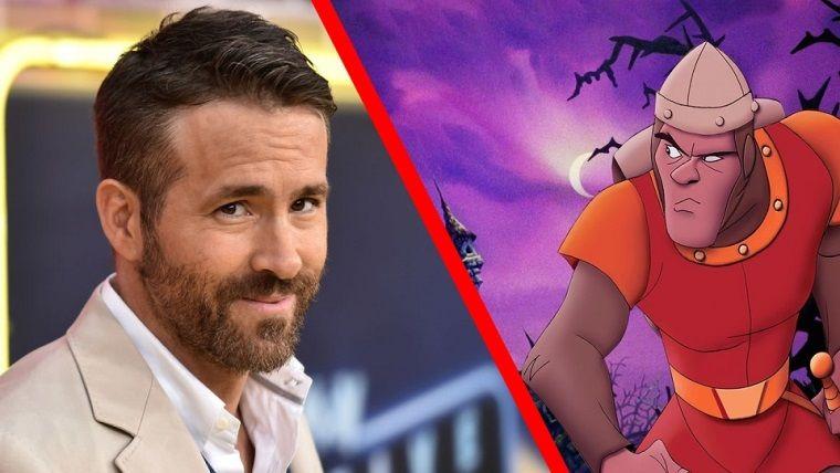 Netflix, Dragon's Lair adaptasyonu için Ryan Reynolds ile görüşüyor