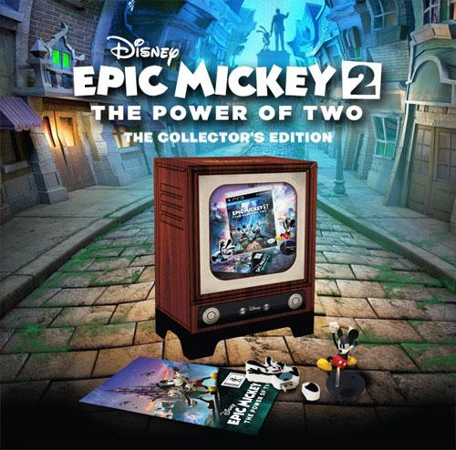 Epic Mickey 2: The Power of Two Özel Paket sizlerle