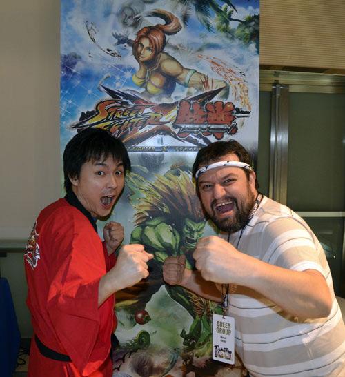 Street Fighter X Tekken PS Vita röportajı