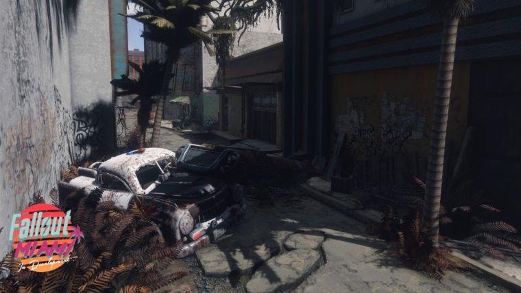 Fallout 4 oynarken Miami sahillerine gitmek ister misiniz?