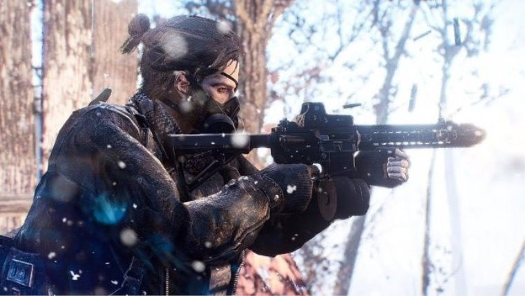 Fallout 2287 modu, Fallout 4'ü nükleer kışa çeviriyor