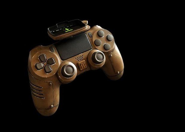 Fallout temalı Dualshock 4'ü görmelisiniz