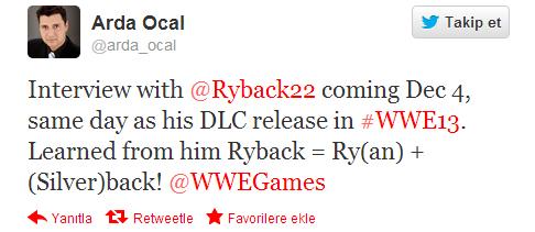 WWE '13 için DLC tarihi sızdı mı?
