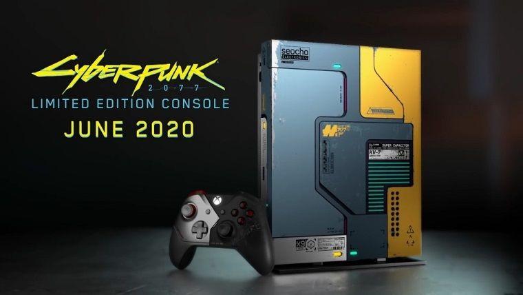 Cyberpunk 2077 temalı Xbox One X şahane gözüküyor