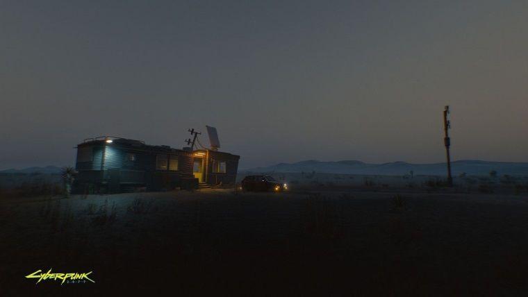 Cyberpunk 2077 için Night City dışında bir görsel yayınlandı