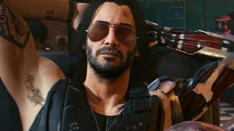 Keanu Reeves, Cyberpunk 2077 oynamaya başlamış bile