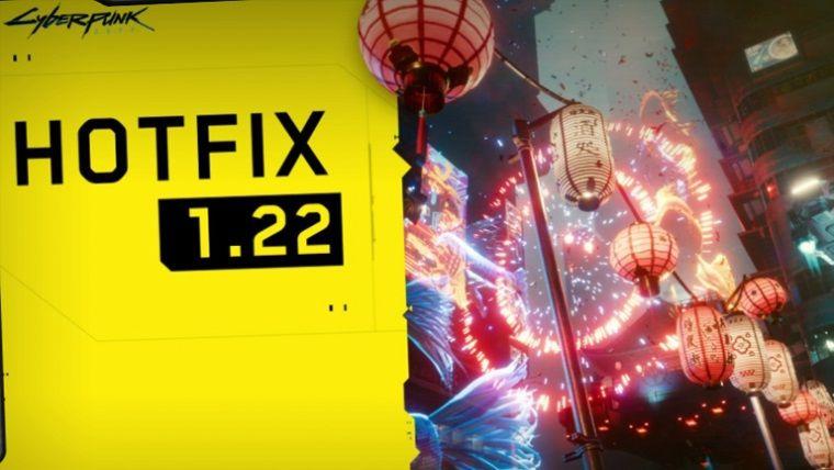 Cyberpunk 2077 1.22 yaması neler getiriyor?