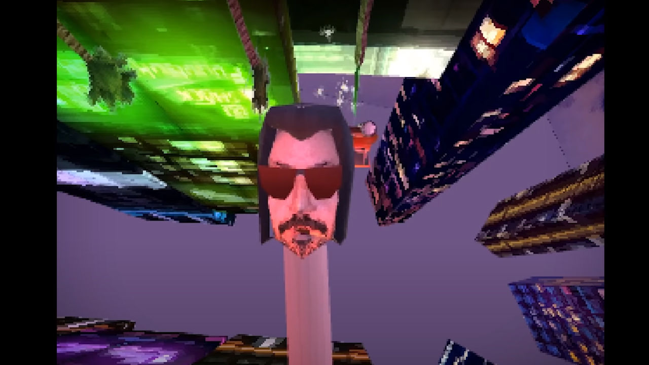 Cyberpunk 2077 PS1 oyunu olsaydı nasıl mı olurdu?