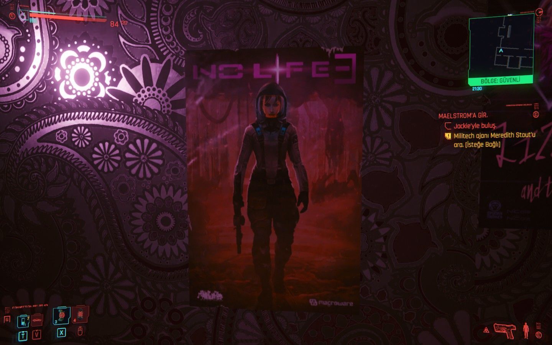 Cyberpunk 2077 Half Life 3 göndermesi içeriyor