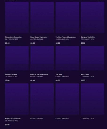 Cyberpunk 2077 DLC list leaked, all free!