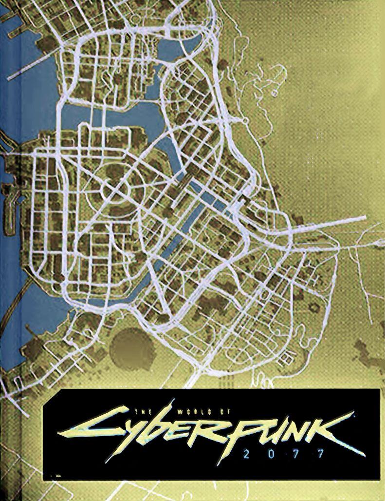 Cyberpunk 2077 haritasının bir bölümü sızdı