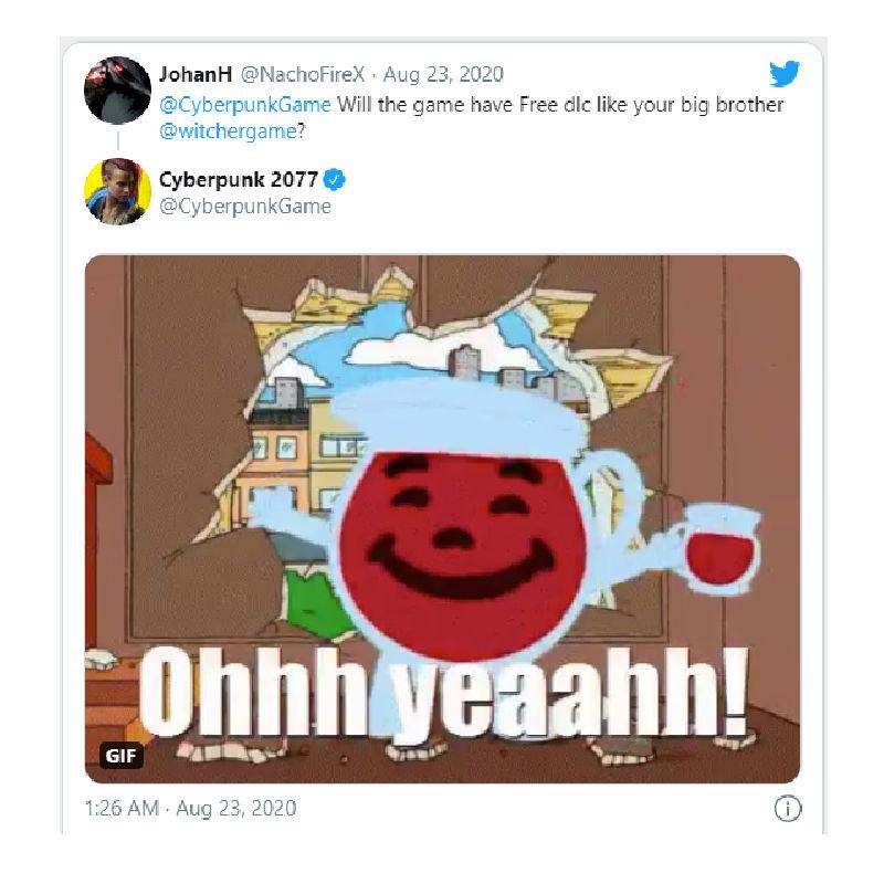 Cyberpunk 2077 The Witcher 3 gibi ücretsiz DLC'lere sahip olacak