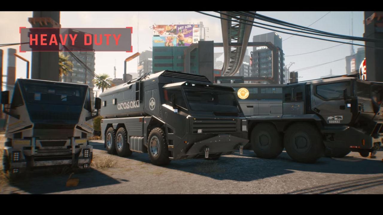 Cyberpunk 2077 araç türleri yeni etkinlikte gösterildi