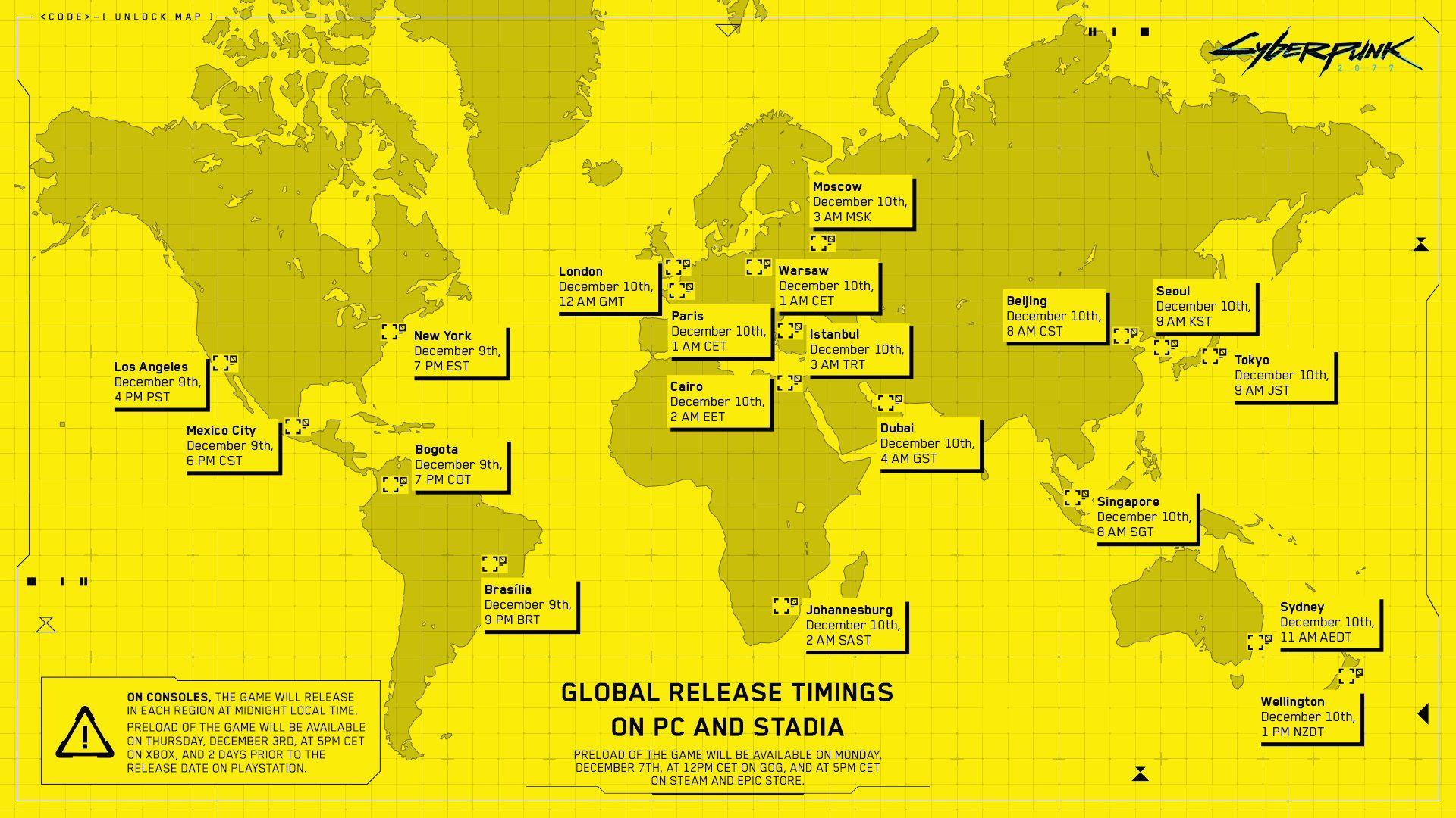 Cyberpunk 2077 Türkiye ön yükleme saatleri açıklandı