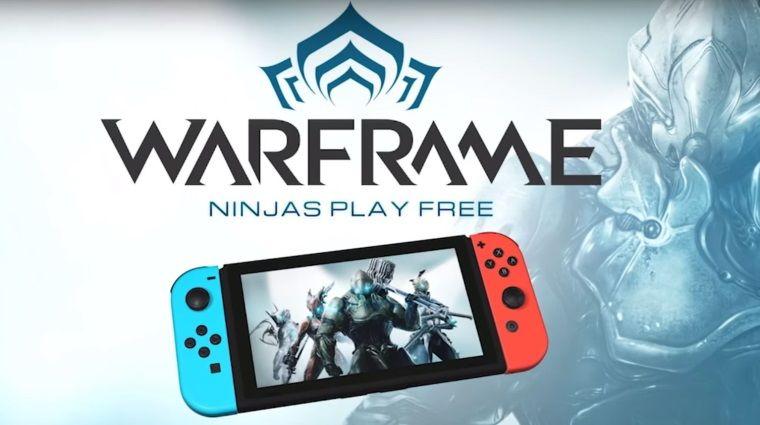 Aksiyon oyunu Warframe'in Nintendo Switch'e geleceği duyuruldu