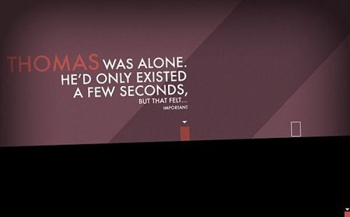 Thomas Was Alone, Steam yolcusu!