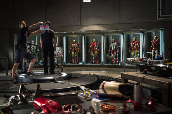 Iron Man 3'e ilk video