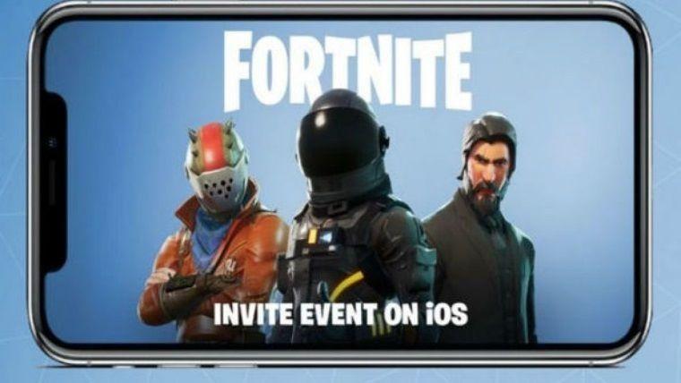 Fortnite'ın mobil sürümü an itibariyle iOS için herkese açıldı