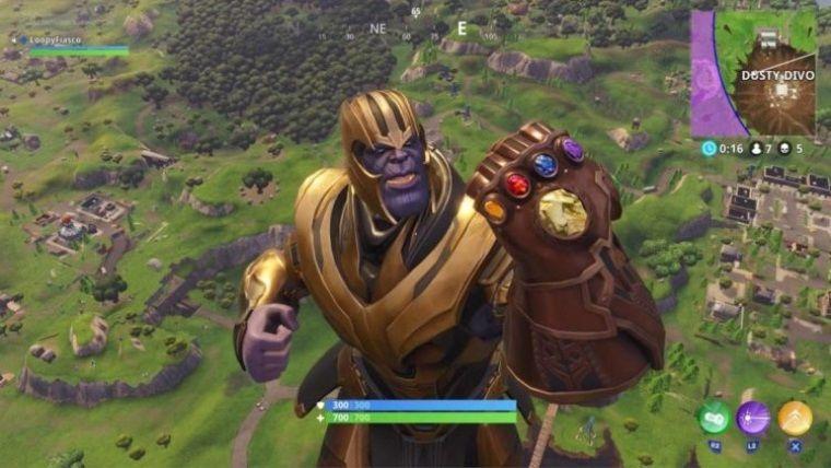 Fortnite'ın yeni etkinliğinde Thanos olmak için ne yapmalıyız?