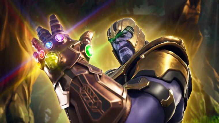 Fortnite oyununa misafir olan Thanos'un gücü düşürüldü