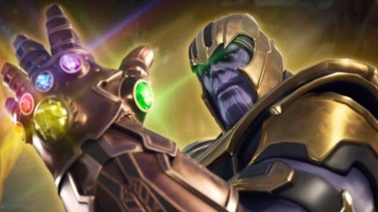 Thanos'un, Fortnite'a gelmesinin sebebi aslında bambaşka