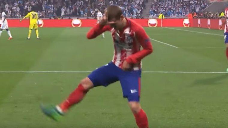 Griezmann Uefa Avrupa Ligi finalinde Fortnite gol sevinci yaptı