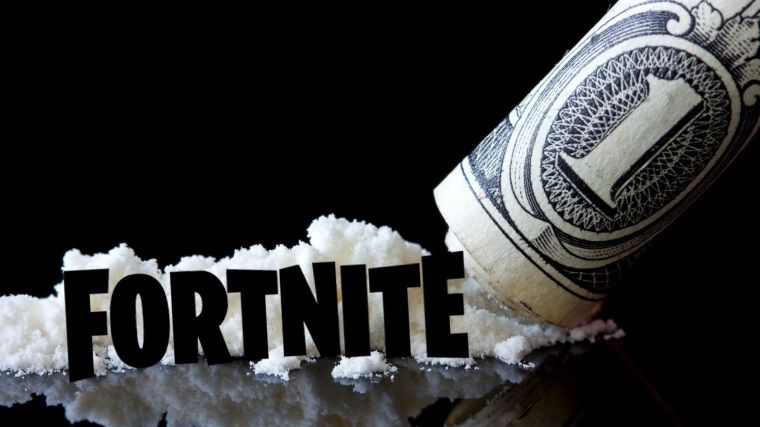 Fortnite, mahkemede kokainle eş değer tutuldu