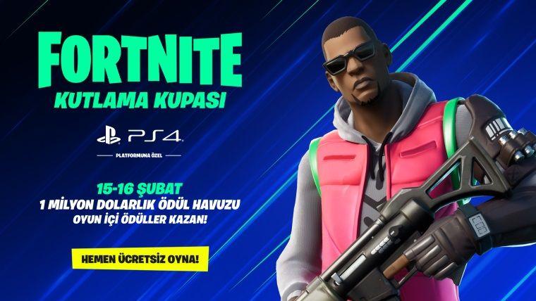 Playstation 4'e özel turnuva: Fortnite kutlama kupası başlıyor