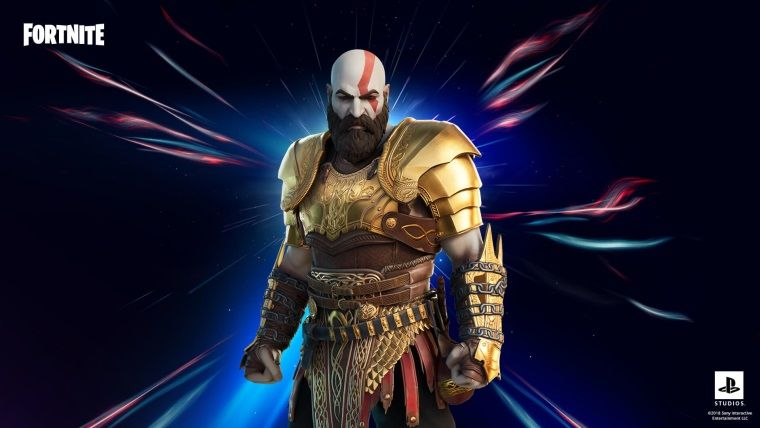 Kratos, Fortnite oyununa geldi