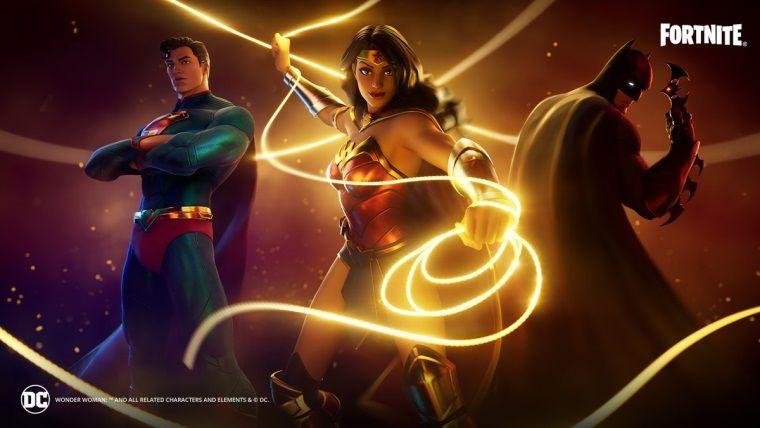 Wonder Woman Fortnite ekibine katılıyor