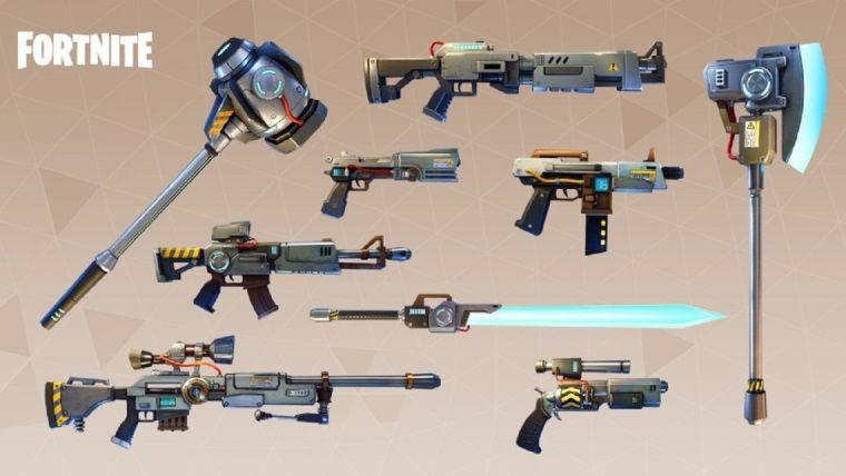 Fortnite'a yeni silahlar ekleniyor
