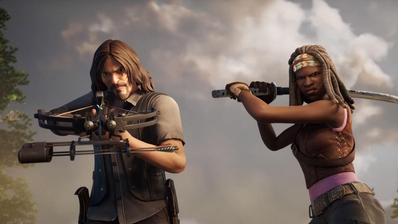 Daryl ve Michonne Fortnite oyununa ekleniyor