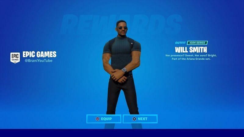 Will Smith Fortnite