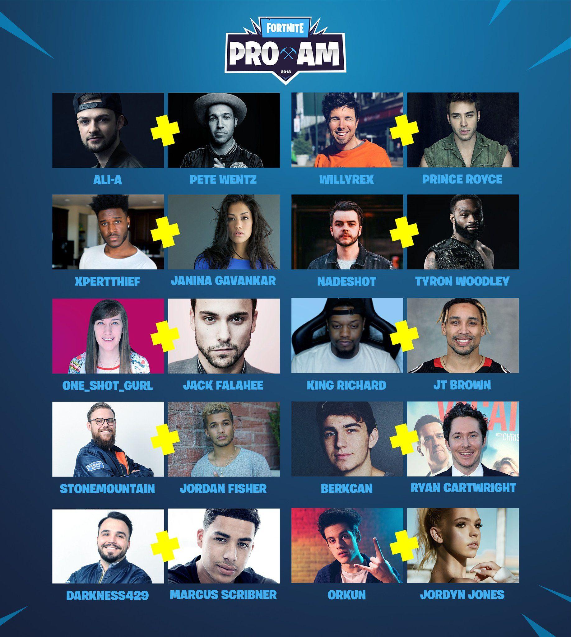 Fortnite'ın E3 ünlüler kadrosunda 2 Türk Youtuber bulunuyor