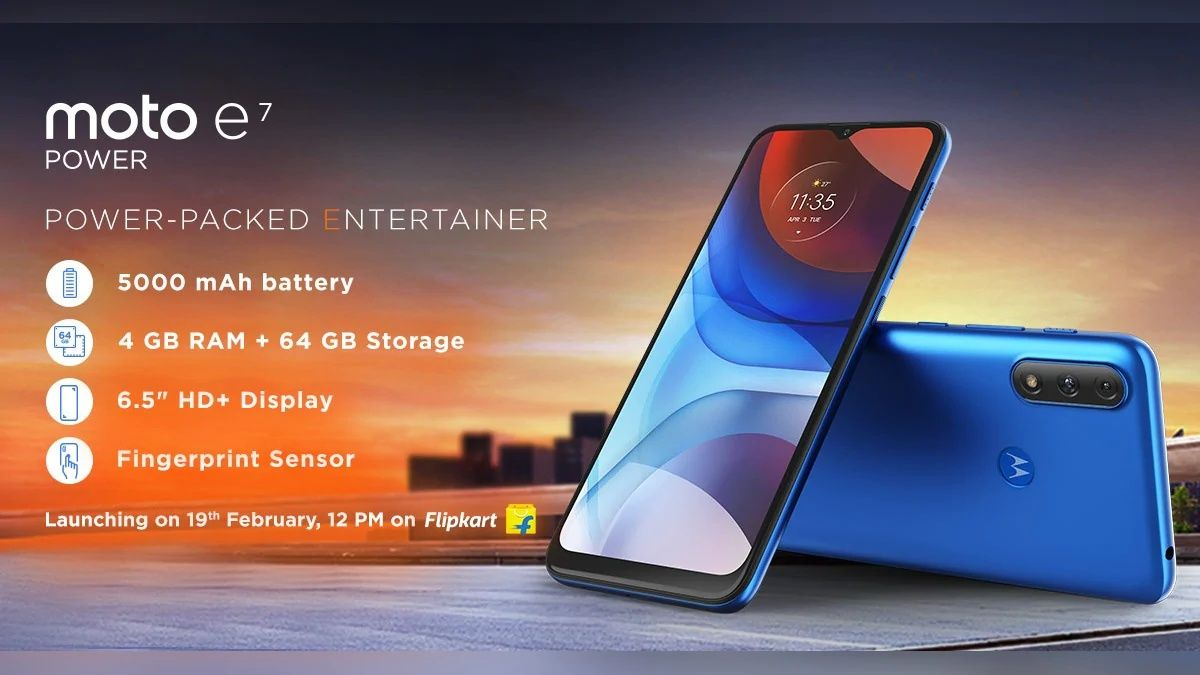 Motorola Moto E7 Power officially introduced