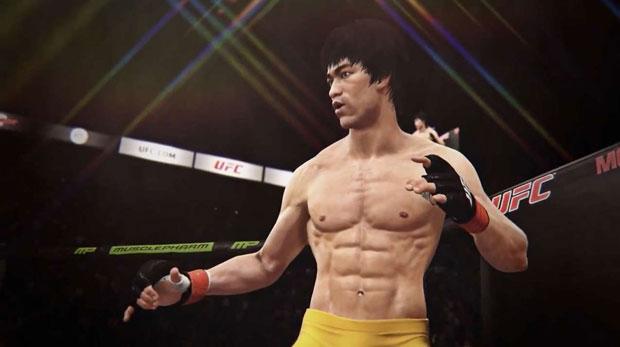 EA Sports UFC için, Bruce Lee karakteri ücretsiz oldu!